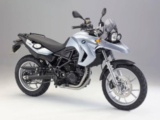 rental BMW F650 GS