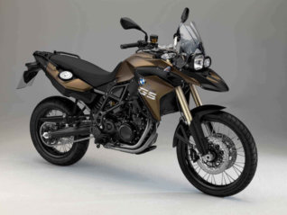rental BMW F800 GS NEW