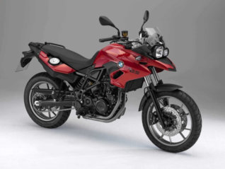 rental BMW F700 GS