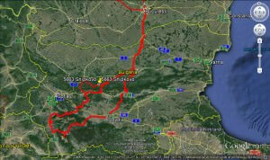 guided motorcycle tour through Bulgaria