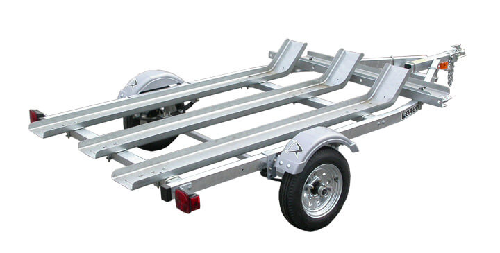 rental motorcycle trailer