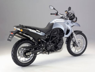 rental BMW F650GS