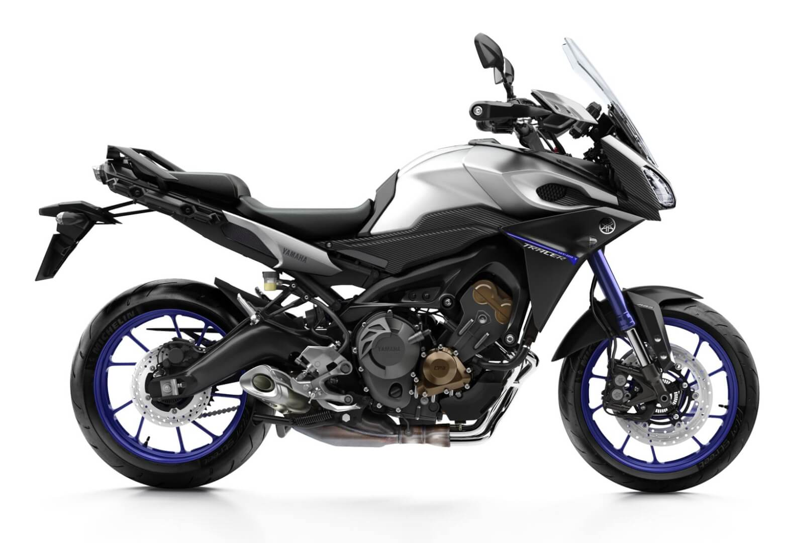motorcycle rental Yamaha MT-09 Tracer